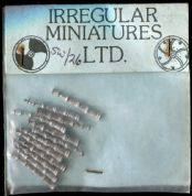 Irregular Miniatures 25mm SW 26 Early Handguns (x 12 )